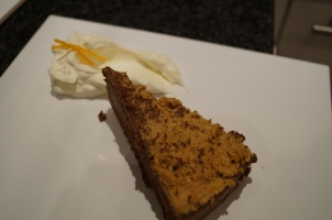 Chocolate Torte with Cointreau Cream